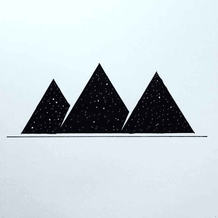 Giza Pyramids - art, elloart, drawing - holyshift | ello