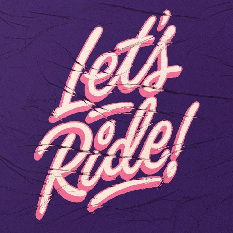 Bike themed lettering bike camp - youbringfire | ello