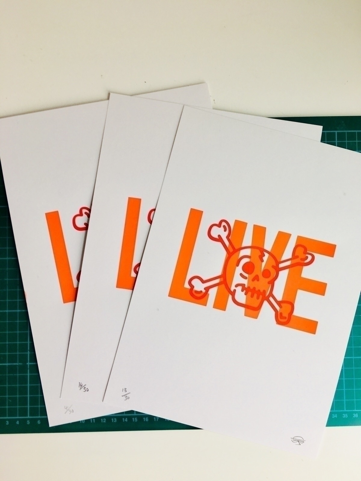 lovely ello lovers. 3 prints gi - dearpete   ello