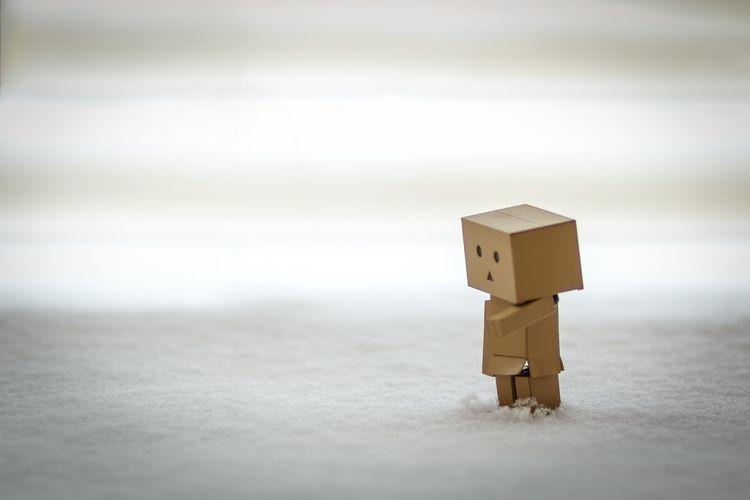 Danbo snow - Wood-Material, Cardboard - sztewe | ello