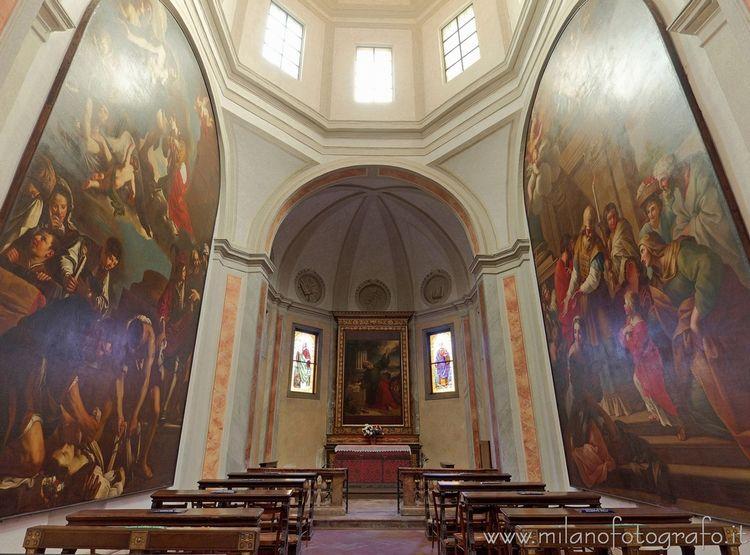 Milan (Italy): Chapel San Marco - milanofotografo | ello