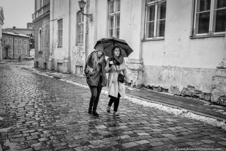 People Tallinn - photograph, blackandwhitephotography - arnevanoosterom | ello