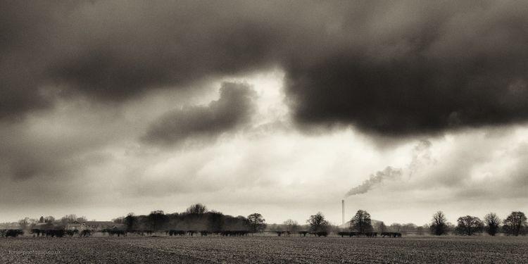 Grey flat land - Ardley, incinerator - toni_ertl | ello