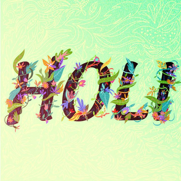 HOLI - Illustration, Illustrator - adrianaduque | ello