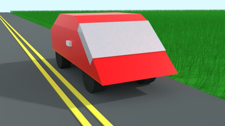 Poly Car - mrtechdude | ello