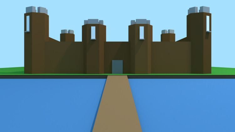 YouTube Channel Art Poly Castle - mrtechdude   ello