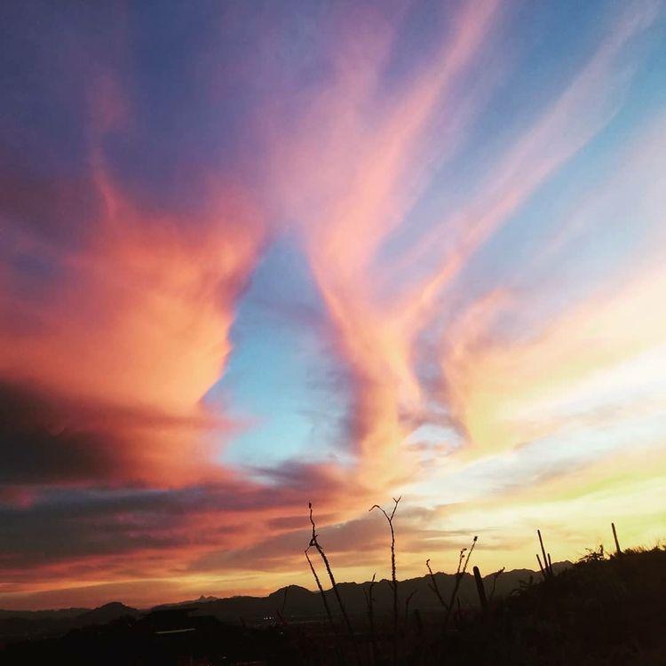 Ascension - sunset, tucson, southwest - cle23 | ello