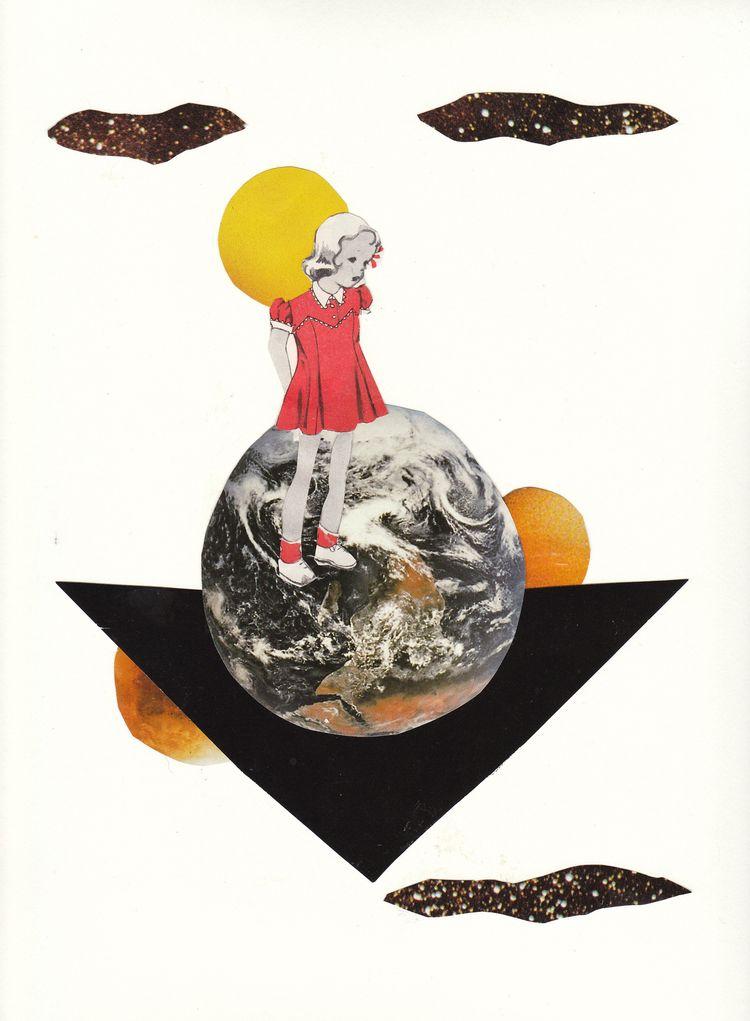 Jeanne Teolis · Astro Girl Coll - jeanneteolis | ello