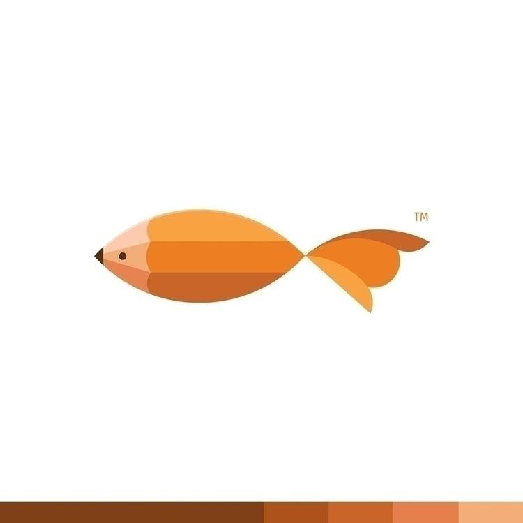 Creative Fish Pencil + (Unused  - ploggeddotcom   ello