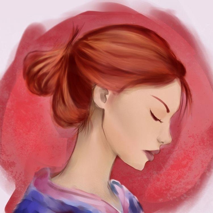 Kimono - Digipaint - johnbonaagua | ello