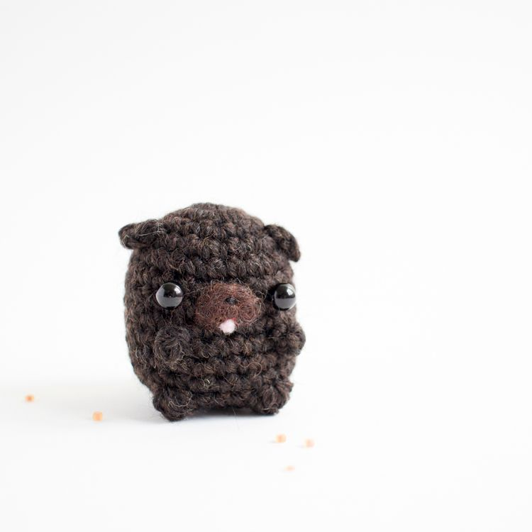 pug Pomeranian daily amigurumis - mohu | ello