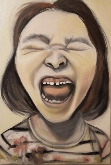3 females screaming Scream Seri - summerbabs | ello