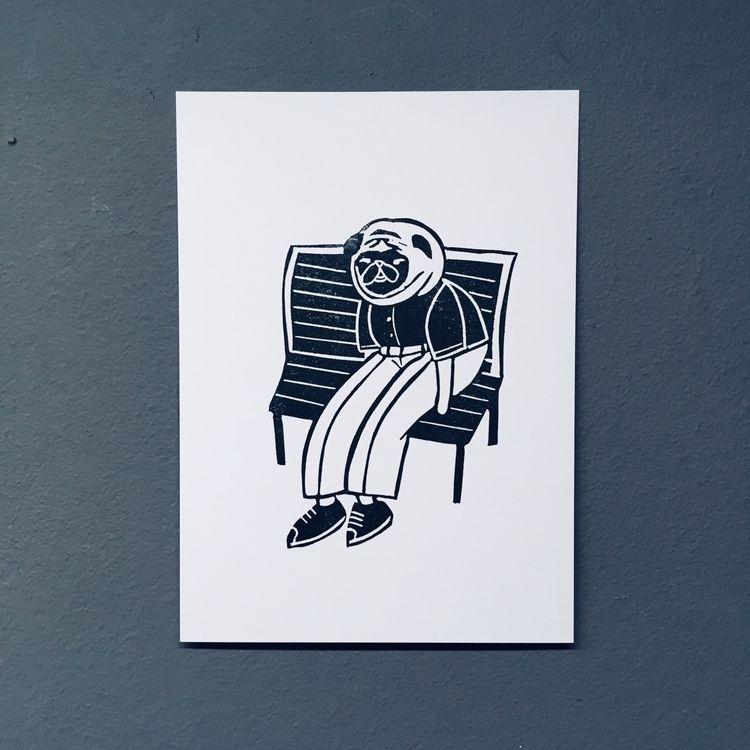Forrest Gump pug - studiomalu | ello