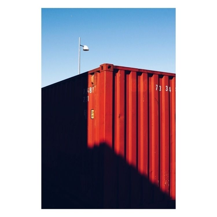 container, street, red - renefhansen | ello