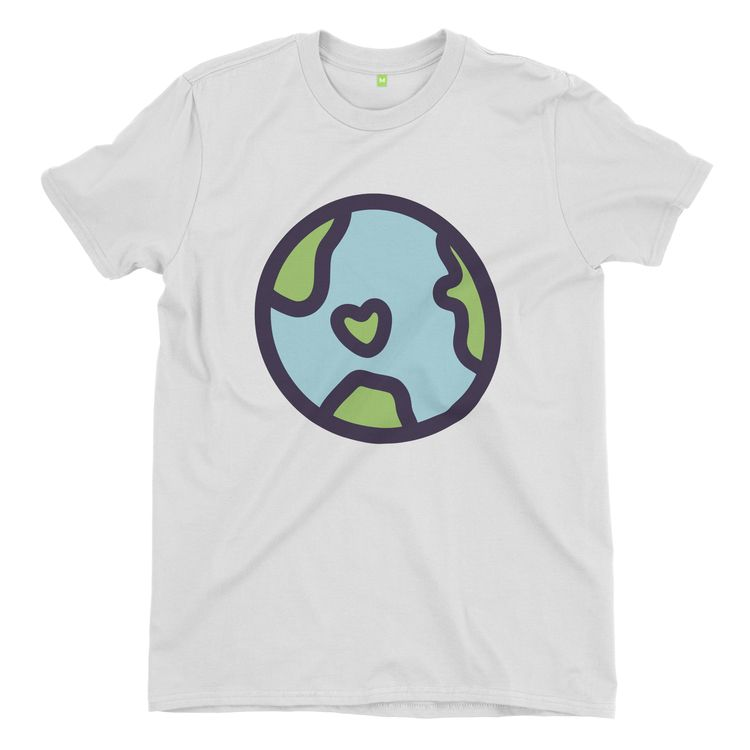 Planet Earth - graphictee, tshirt - yanmos | ello