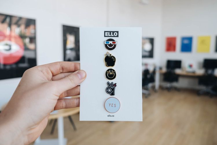 Studio pin collection. Ello - b - lucian | ello