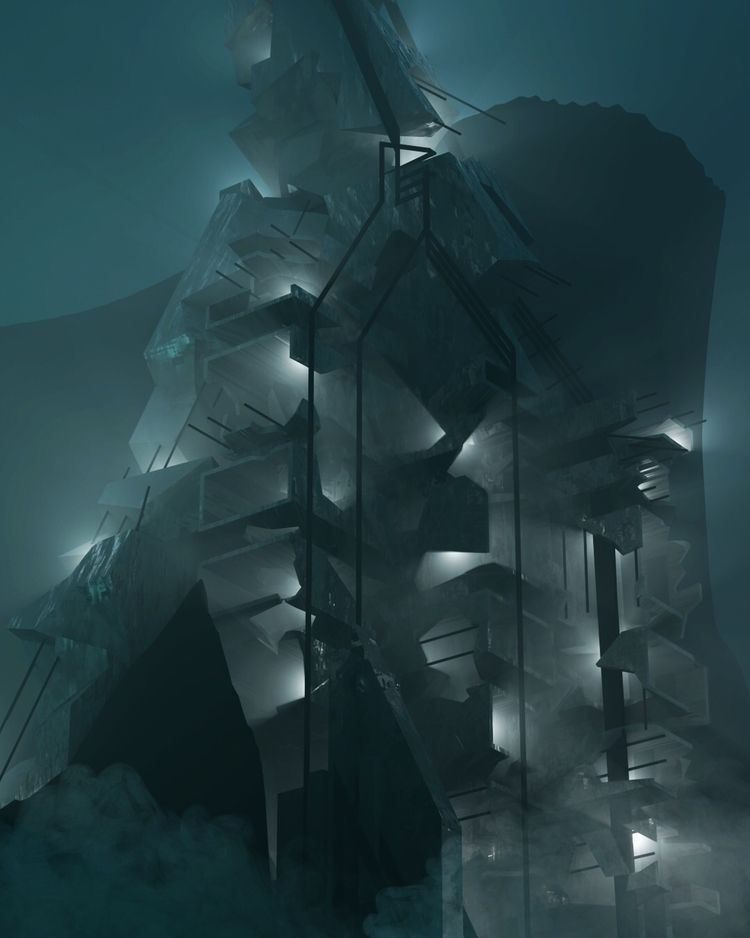 """Ruin - 3D, art, everyday, scifi - roggggg | ello"
