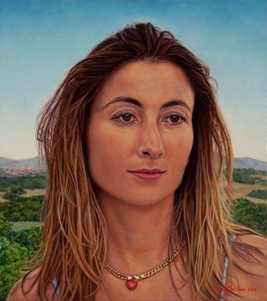 Giovanna, nr. 1 triptych Italia - yvonnemelchers | ello