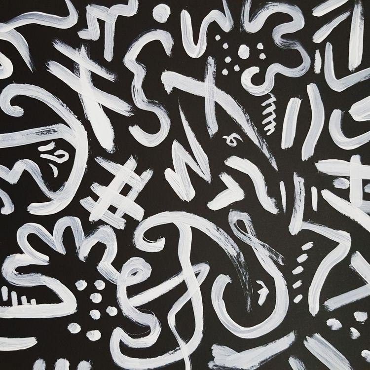 board, exploring 042018 - Acrylic - ekxxvi | ello