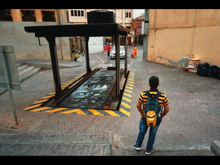Black Yellow, Yellow Dubai - streetphotography - khuram | ello