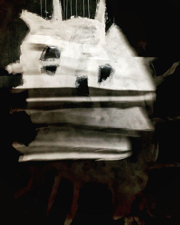 Radio Ghost Photograph glass - photoconceptualism - nicolamaria | ello