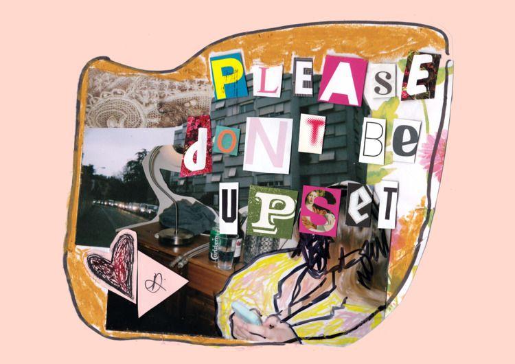 upset - ellocollage, collage, collageartist - jazminali | ello