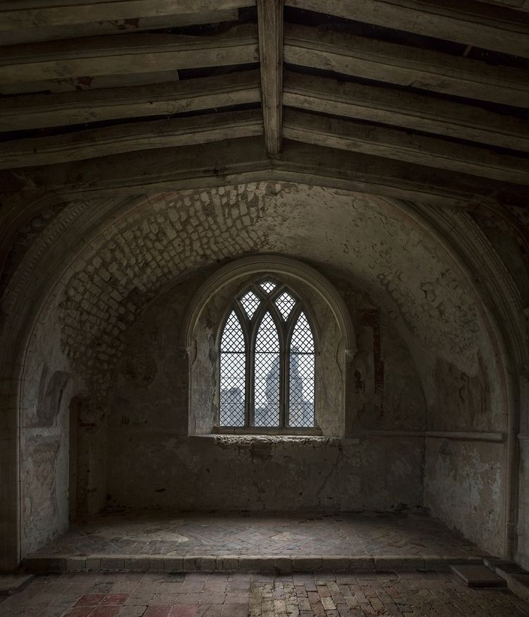 interior shot Castle Acre Prior - forgottenheritage | ello