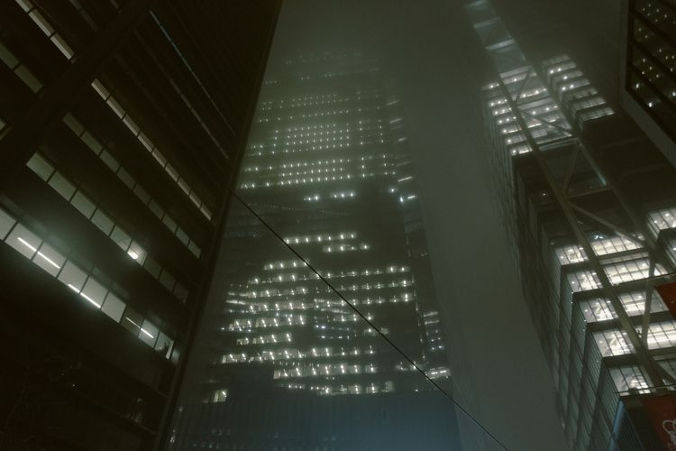 York, 2018 - newyork, nyc, ny, fog - silviaborja | ello