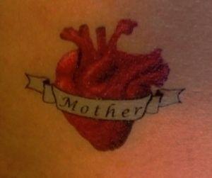 anatomical heart temporary tatt - fangrenew | ello