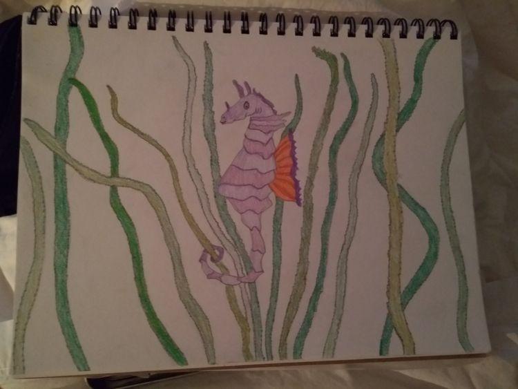seahorse kick day  - fangrenew | ello