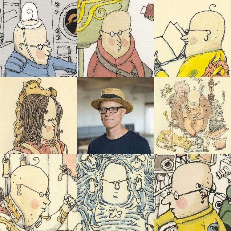 Mattias Adolfsson, draw lot - artvsartist - mattiasadolfsson   ello