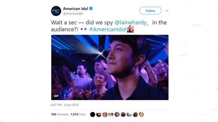 'American Idol' Laine Hardy fan - janeflowers | ello