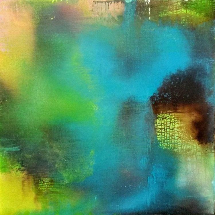 Suffering Bliss - painting, oiloncanvas - katayoon | ello