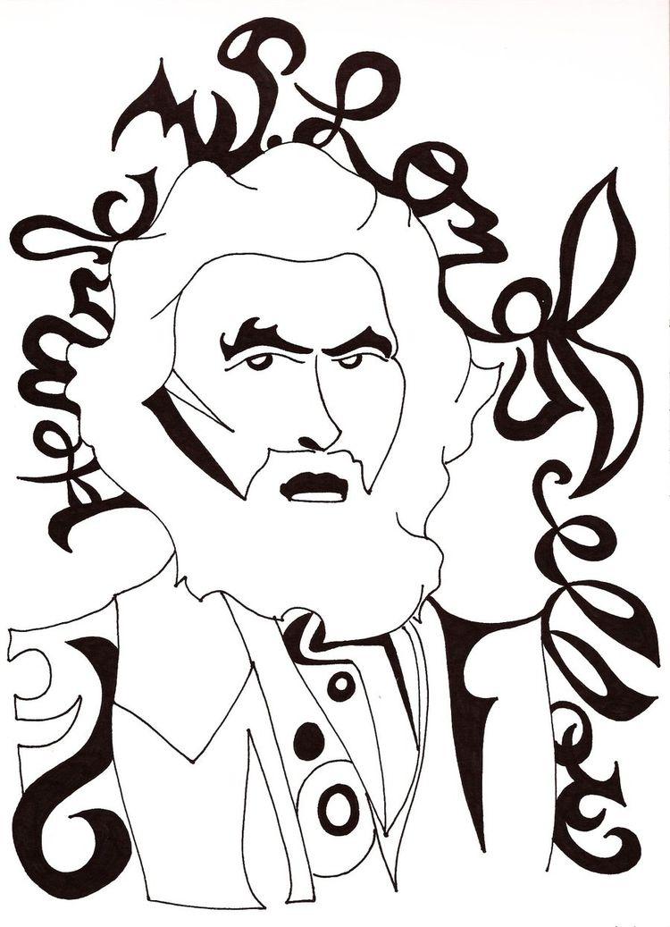 Henry Longfellow - art - tomatoaftermath | ello