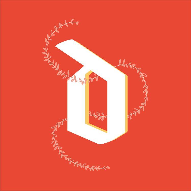 Letter - graphicdesign, 36daysoftype - ritaribeiro | ello