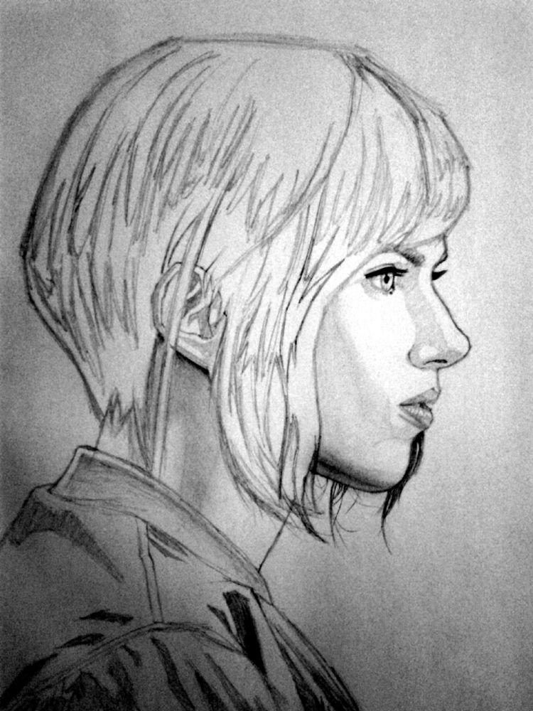 Scarlett Johansson Ghost Shell - uzeir95 | ello