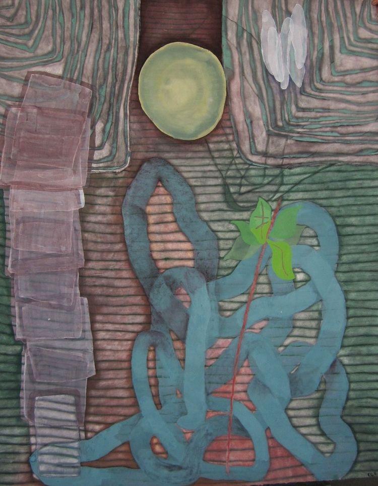 Moon Snake, 121x150cm - edmondbb | ello