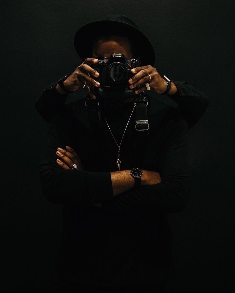 Helping hands - portrait, melanin - charlesetoroma | ello