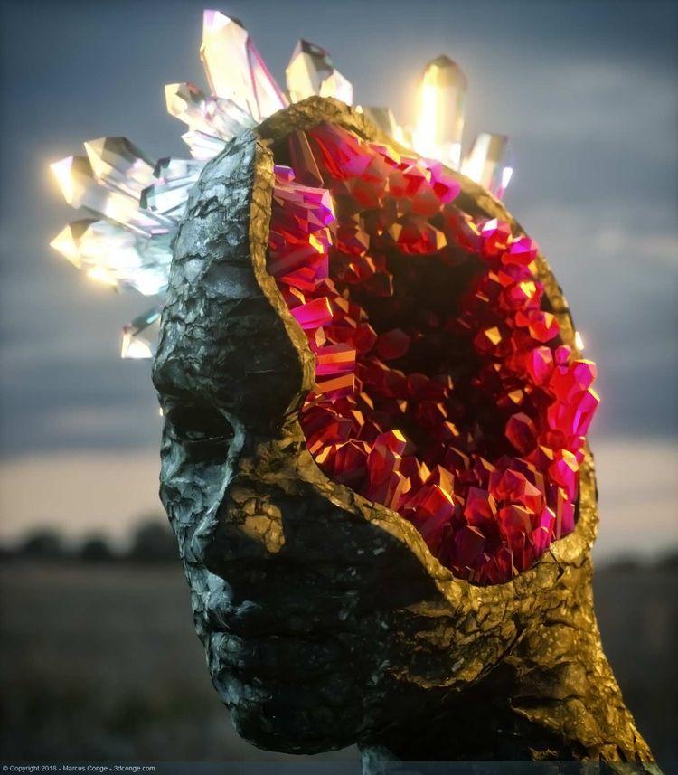 bRaiNe pHarT - cinema4d, create - rockingthepixel | ello