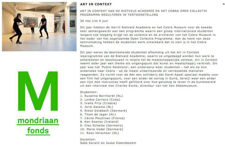 Mondrian coverage exhibition Co - kenbrooney | ello