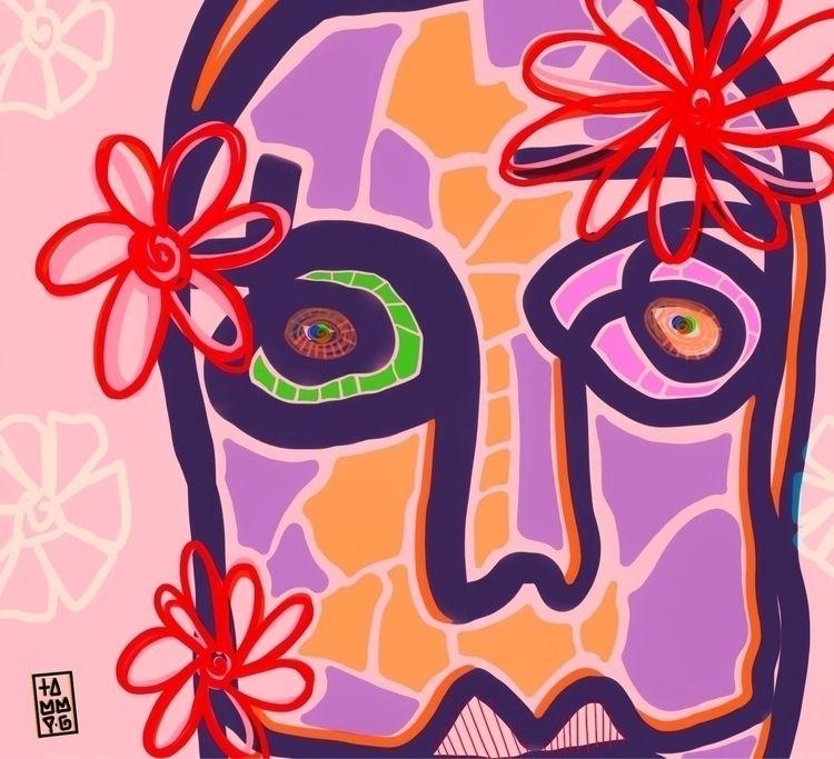 shop, linkinbio, art, love, flower - tammygissell | ello
