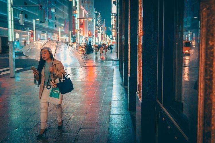 rainy night Ginza time  - tokyo - fokality | ello