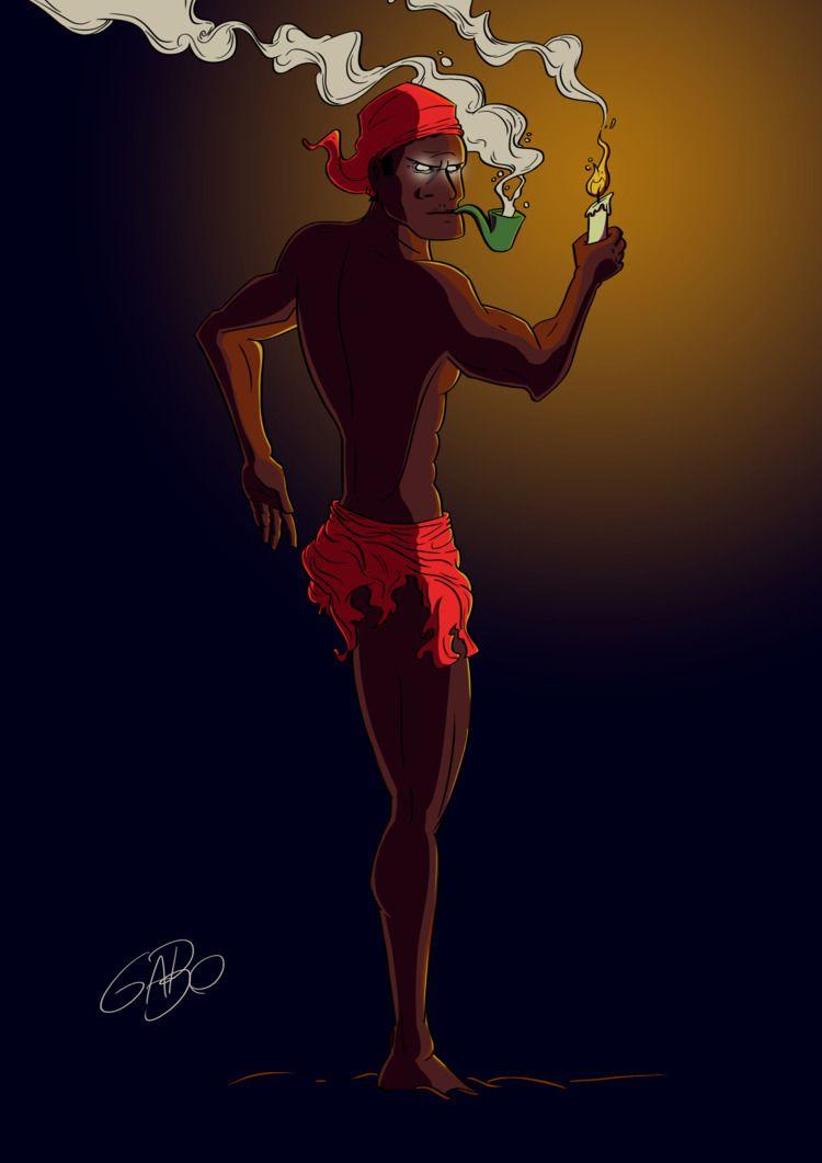 illustration, art, brasil - gabo_jurgensen | ello