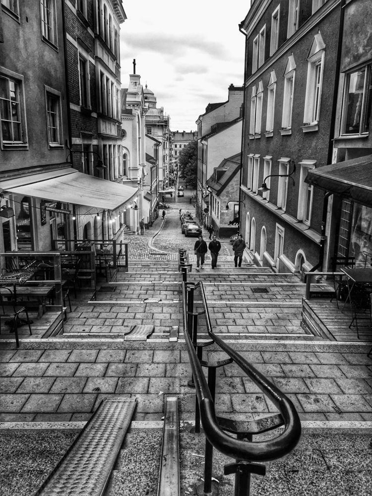 Street Södermalm, Stockholm, Sw - renspacemadness   ello
