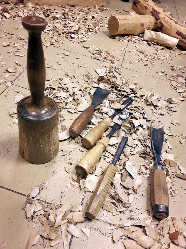 pracowni - rzeźba, sculpture, wood - matyjaszewski | ello