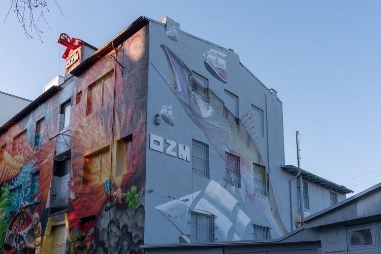 OZM Gallery WonABC Loomit Mural - crumblegg   ello