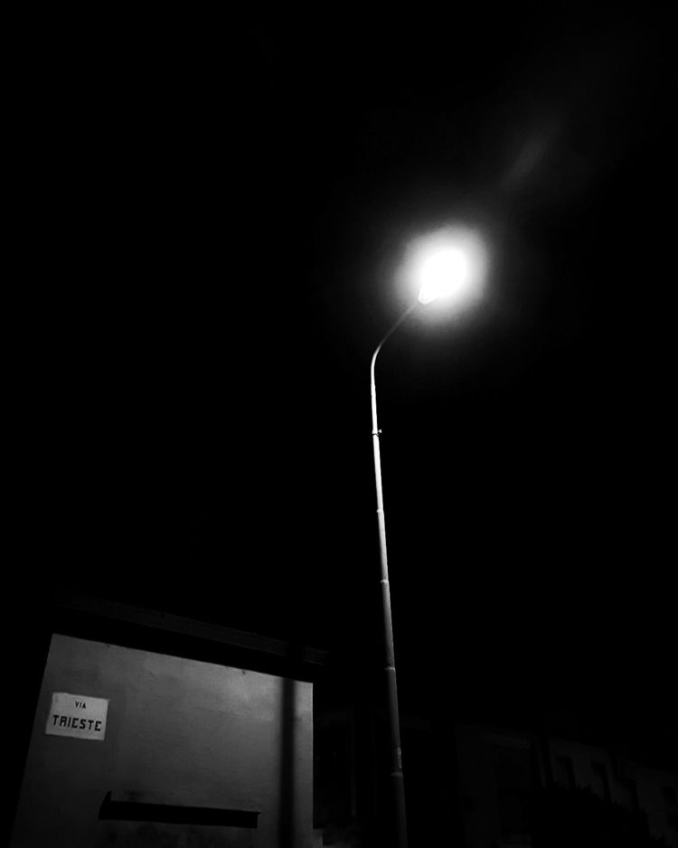 street Lamp importance black - photography - paolosommariva | ello