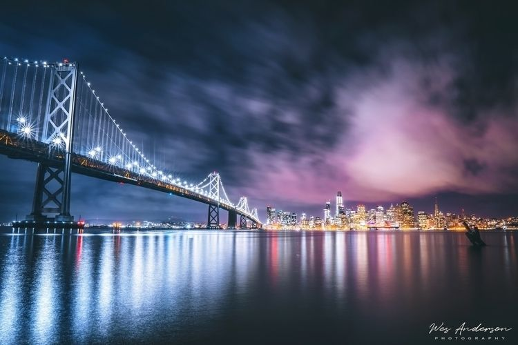SF Skyline 2am - wesandersonphotography | ello