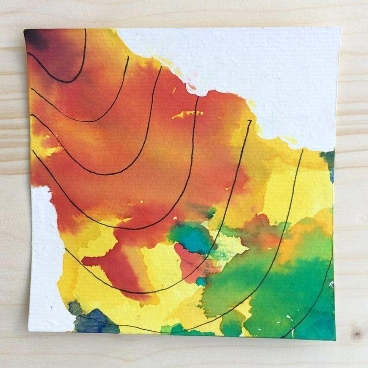 Tohoku 2017 12x12cm Watercolor  - vascomaio | ello