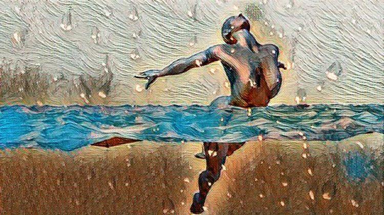 Submerge - art, digitalart, 3d, painting - matthaugusto | ello